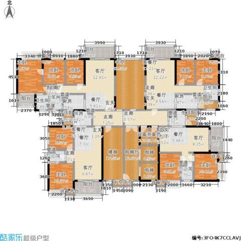 锦盛恒富得9室4厅5卫4厨337.60㎡户型图