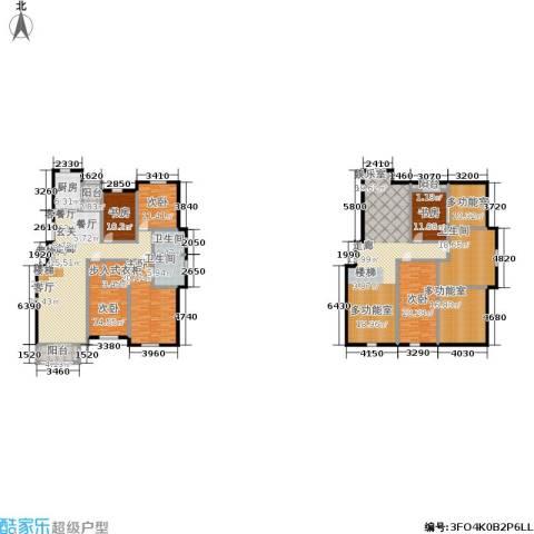 锦麟6室1厅3卫1厨264.54㎡户型图