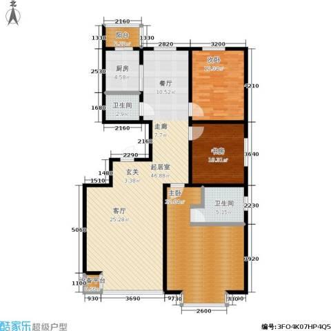 丽阳馨苑3室0厅2卫1厨141.00㎡户型图