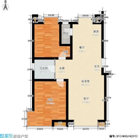 德馨苑2室0厅1卫0厨92.65㎡户型图