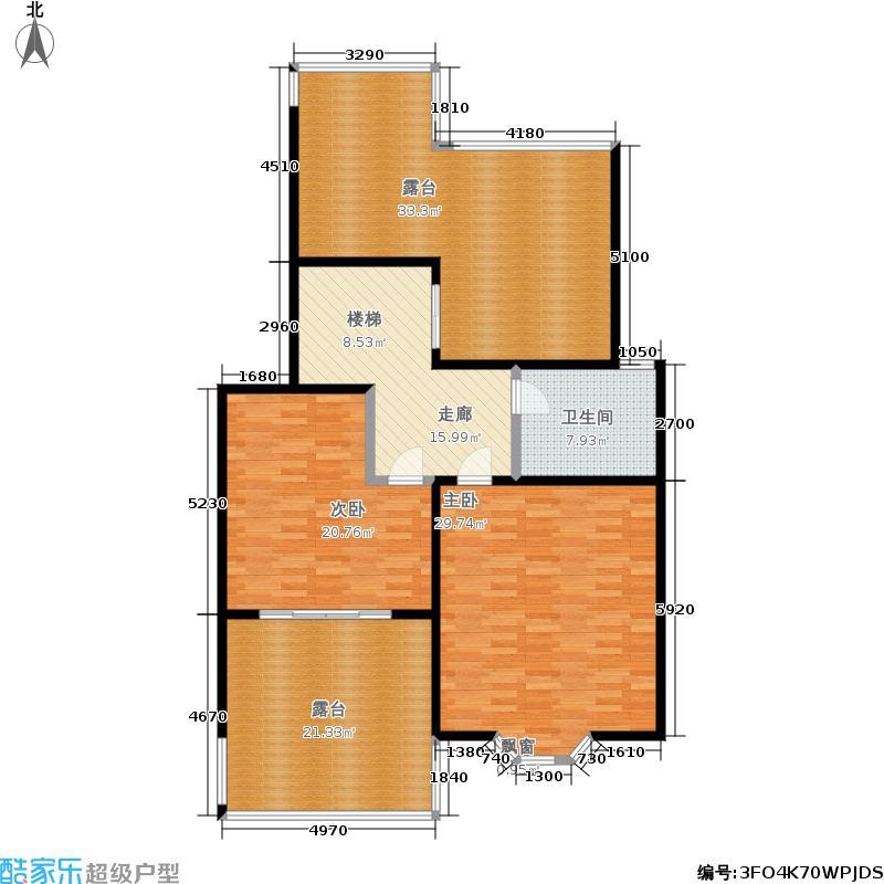 昌鑫花园140.00㎡房型: 复式; 面积段: 140 -166 平方米; 户型