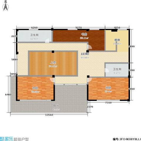 金鸡湖花园3室0厅2卫0厨280.00㎡户型图