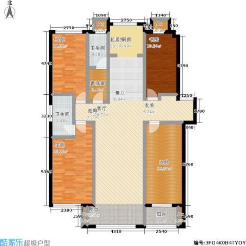 颐和香榭4室0厅2卫0厨147.00㎡户型图