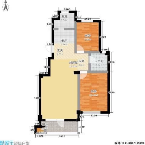 福佳绿都2室0厅1卫0厨91.00㎡户型图