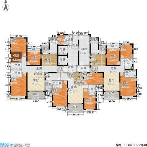 恒大雅苑9室0厅6卫3厨514.00㎡户型图