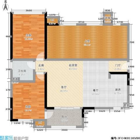 万科金域华府2室0厅1卫0厨159.00㎡户型图