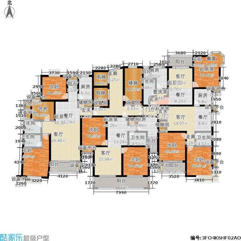 达安锦园一期67.04㎡房型: 一房; 面积段: 67.04 -67.12 平方米;户型