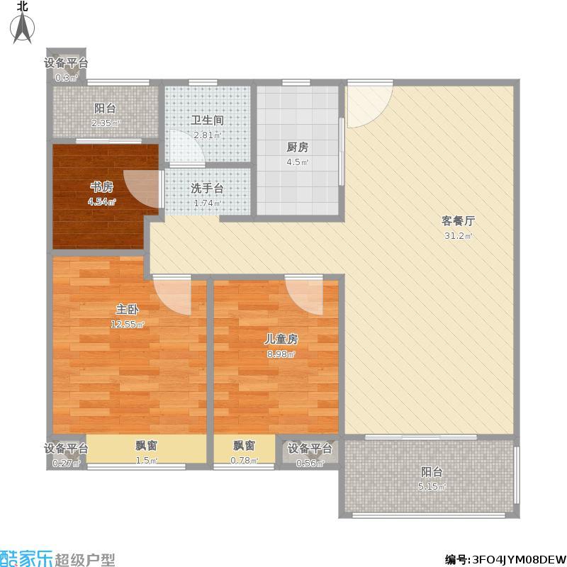 中海朝阳郡1-2A
