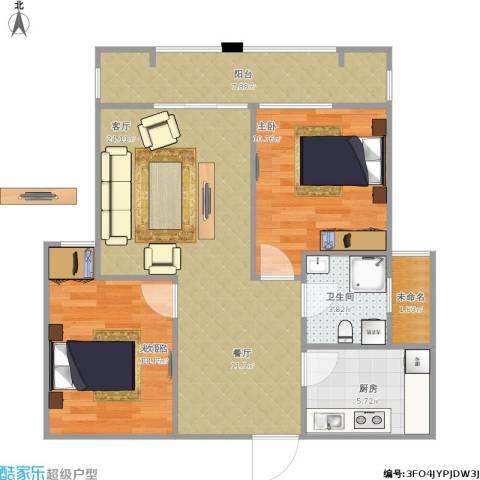紫金天境1室1厅1卫1厨89.00㎡户型图