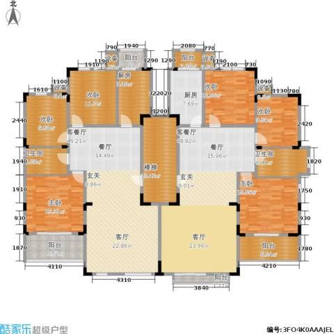洛卡小镇6室2厅2卫2厨256.11㎡户型图
