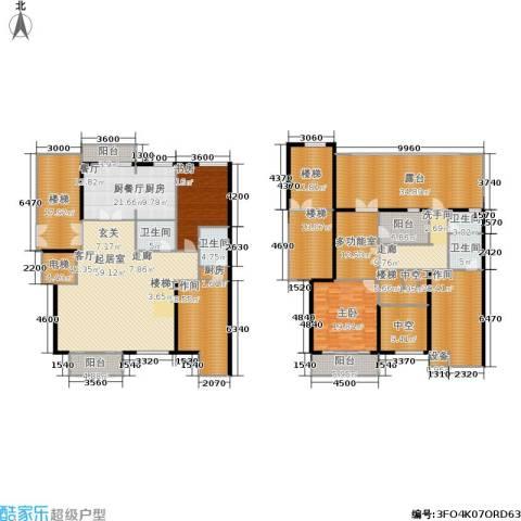 文华园2室0厅4卫1厨318.06㎡户型图