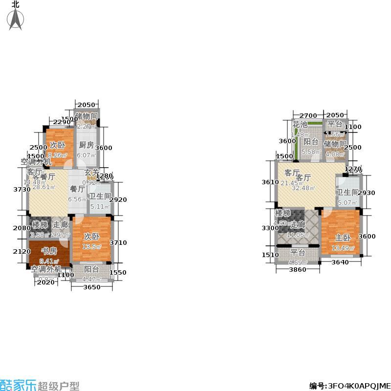 合肥169.61㎡三阳台16961m2户型