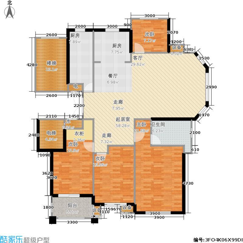 中义阿卡迪亚住宅小区150.00㎡户型