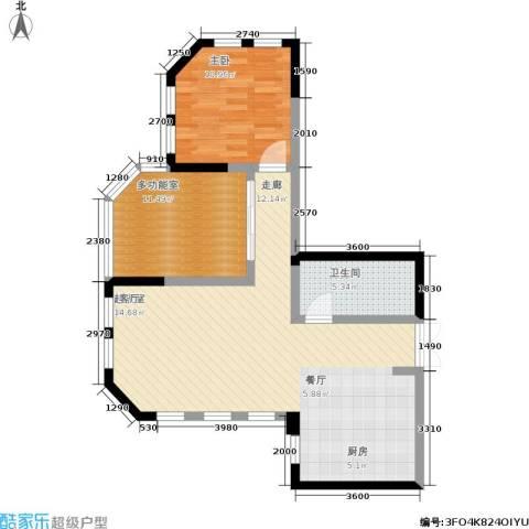 水木青华・小小岛 小小岛 水木青华1室0厅1卫0厨78.00㎡户型图
