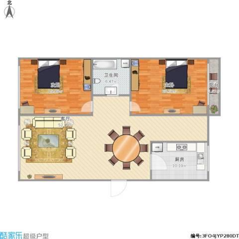 欣荣家园3-1-4012室1厅1卫1厨148.00㎡户型图