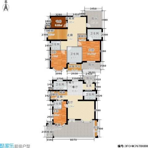 星海绿苑4室2厅6卫0厨207.00㎡户型图