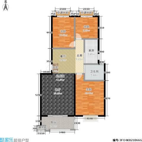幸福美地3室0厅1卫1厨112.00㎡户型图