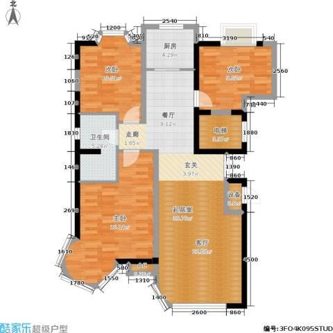 碧海尚城3室0厅1卫1厨110.00㎡户型图