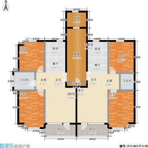 世嘉星海二期4室0厅2卫0厨222.00㎡户型图