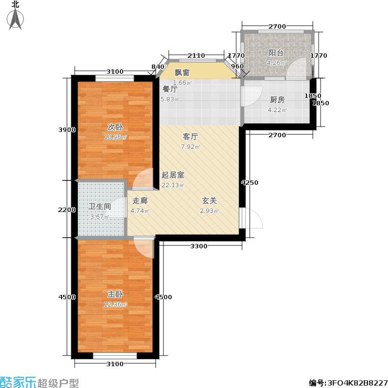 华远新家园-32号楼0954户型