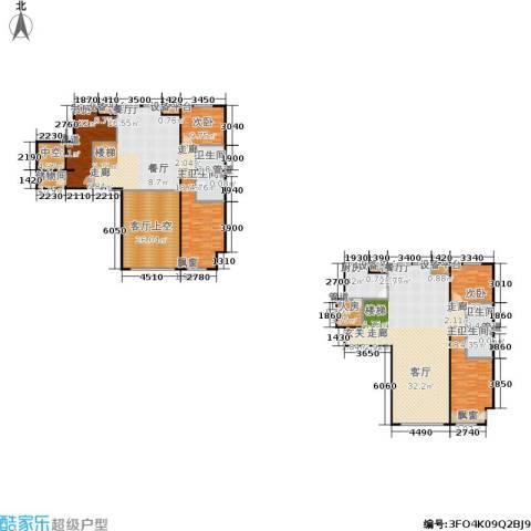 阳光100国际新城一期5室2厅4卫1厨264.00㎡户型图