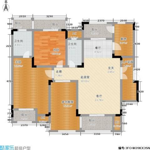山语间二期 山语间・爱尚2室0厅2卫1厨152.00㎡户型图