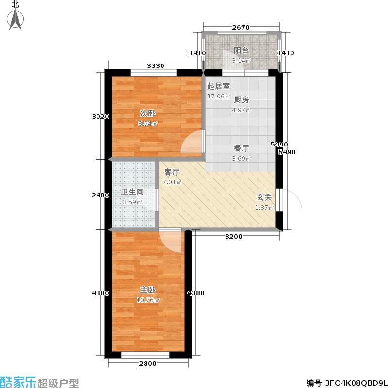 华远新家园和户型