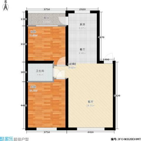 阳光嘉园2室0厅1卫0厨102.00㎡户型图