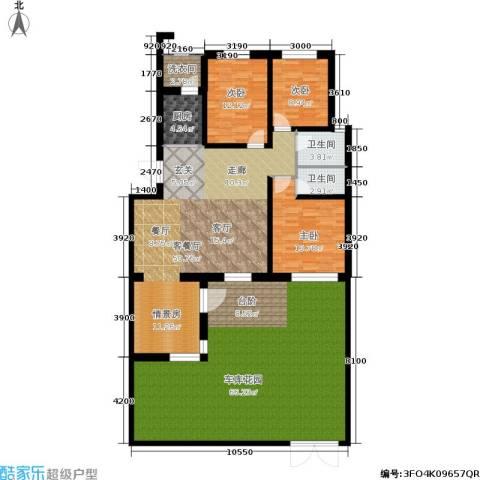 金汇雅居3室1厅2卫1厨165.88㎡户型图
