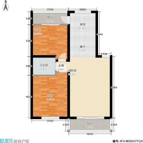 阳光嘉园2室0厅1卫0厨105.00㎡户型图