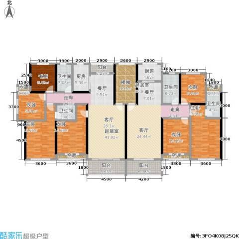 金地康城7室0厅4卫2厨223.87㎡户型图