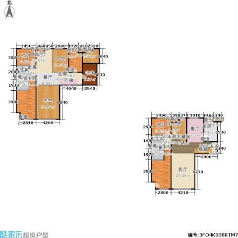阳光100国际新城一期6室2厅4卫1厨249.00㎡户型图