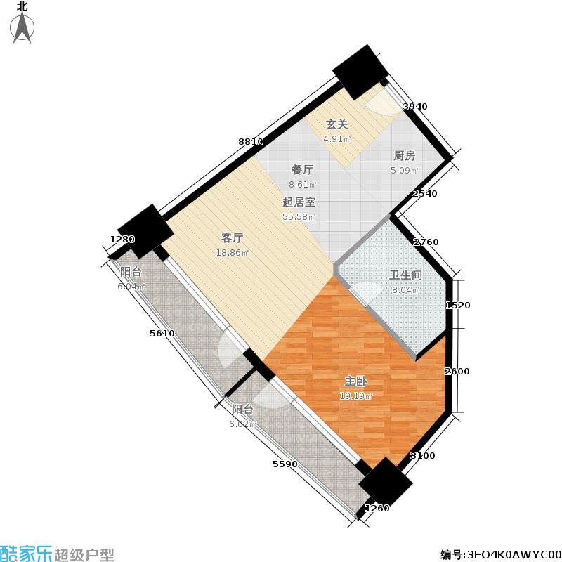 青岛维多利亚广场-H户型