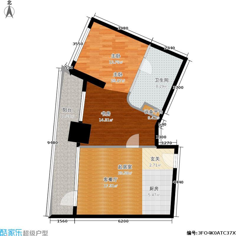 青岛维多利亚广场-G户型