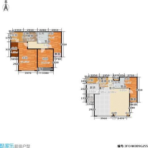 阳光100国际新城一期4室1厅3卫1厨179.00㎡户型图