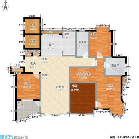世嘉星海二期4室0厅2卫0厨200.00㎡户型图