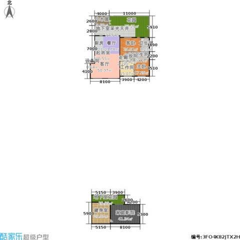 锋尚国际公寓2室0厅2卫0厨335.41㎡户型图