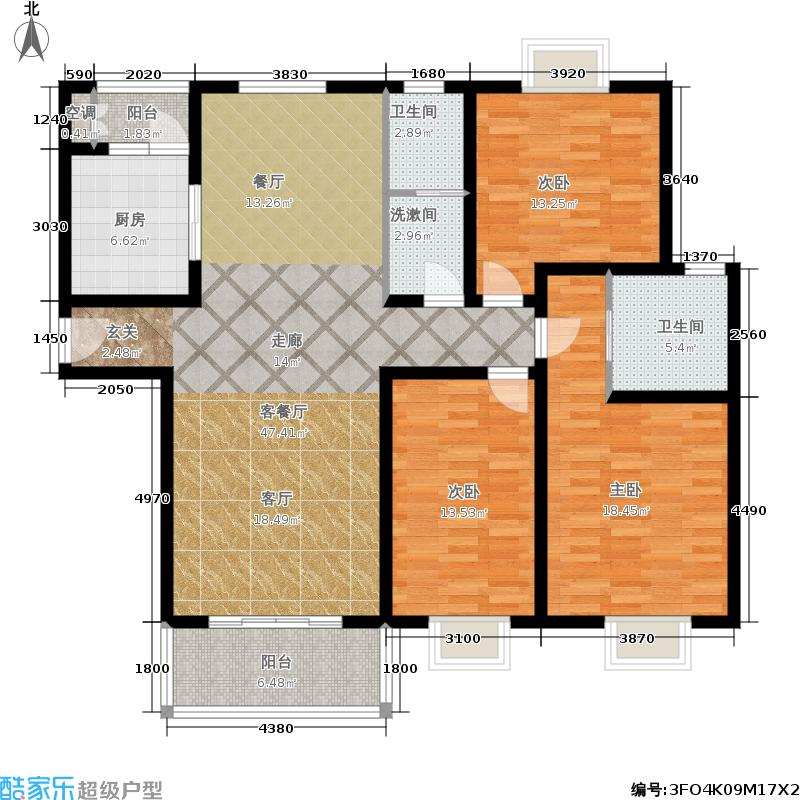 阳光汇景二期住宅15、17号楼户型
