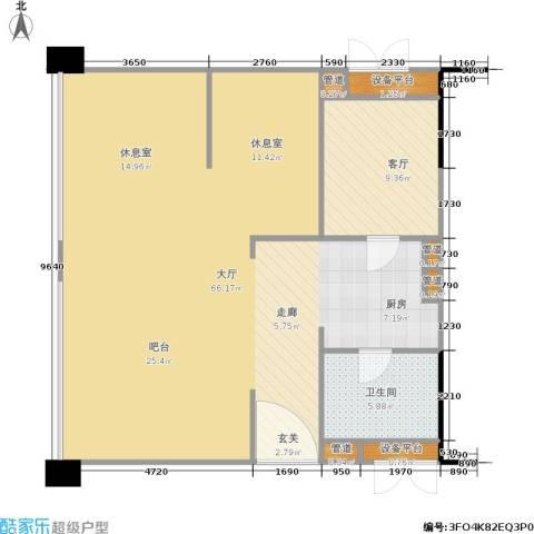 中信协和大厦1厅1卫0厨112.00㎡户型图