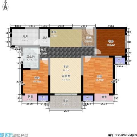 万科玲珑湾 玲珑湾3室0厅1卫1厨125.00㎡户型图