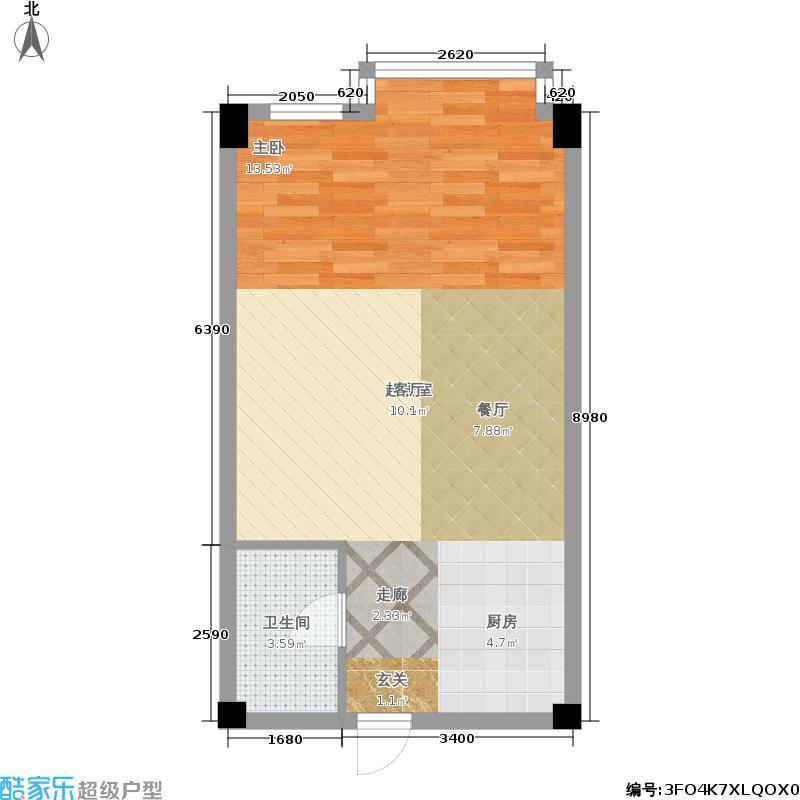 哈尔滨软件园二期A栋交付使用参考平面图户型