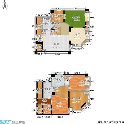 杰特公寓3室0厅5卫0厨180.00㎡户型图