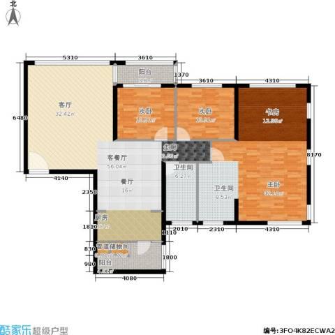 茂业豪园3室1厅1卫0厨149.00㎡户型图