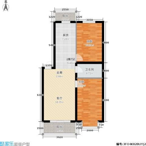 贵府尚佳2室0厅1卫0厨107.00㎡户型图