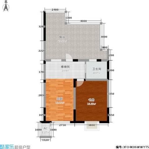 国信・阅景龙华1室0厅1卫0厨132.00㎡户型图