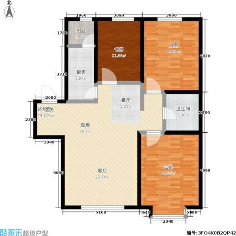 幻景家园3室0厅1卫1厨150.00㎡户型图