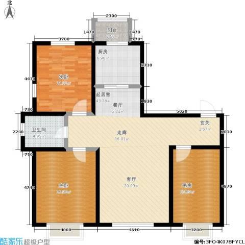 幻景家园3室0厅1卫1厨146.00㎡户型图