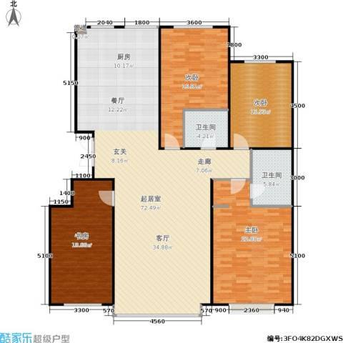 盛华苑4室0厅2卫0厨204.00㎡户型图