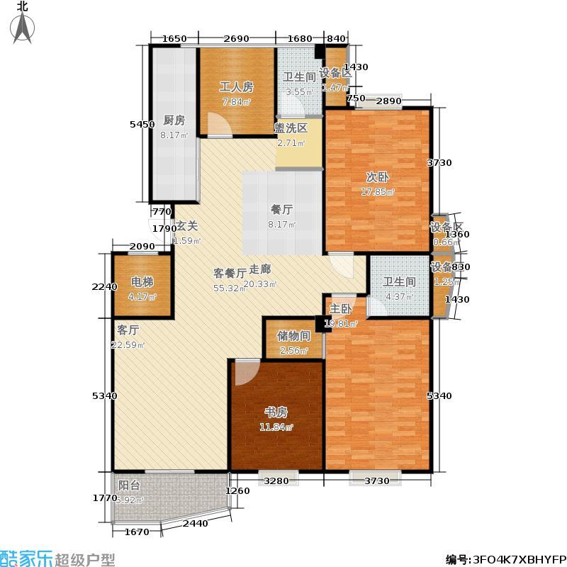 彩虹家园156.00㎡179m2户型