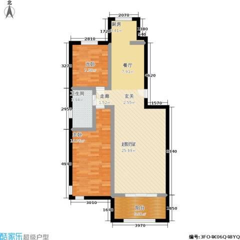 南阳小区2室0厅1卫0厨101.00㎡户型图
